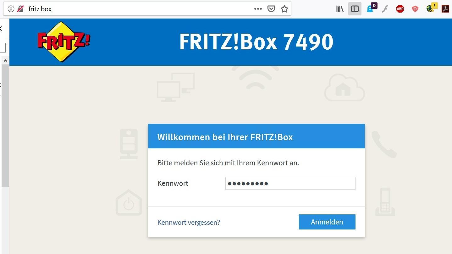 Benutzeroberfläche der FritzBox aufrufen   so geht's   CHIP