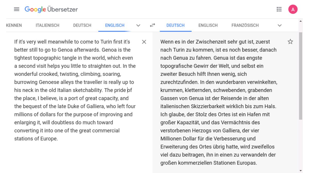 Gratis deutsch übersetzen englisch Übersetzer kostenlos