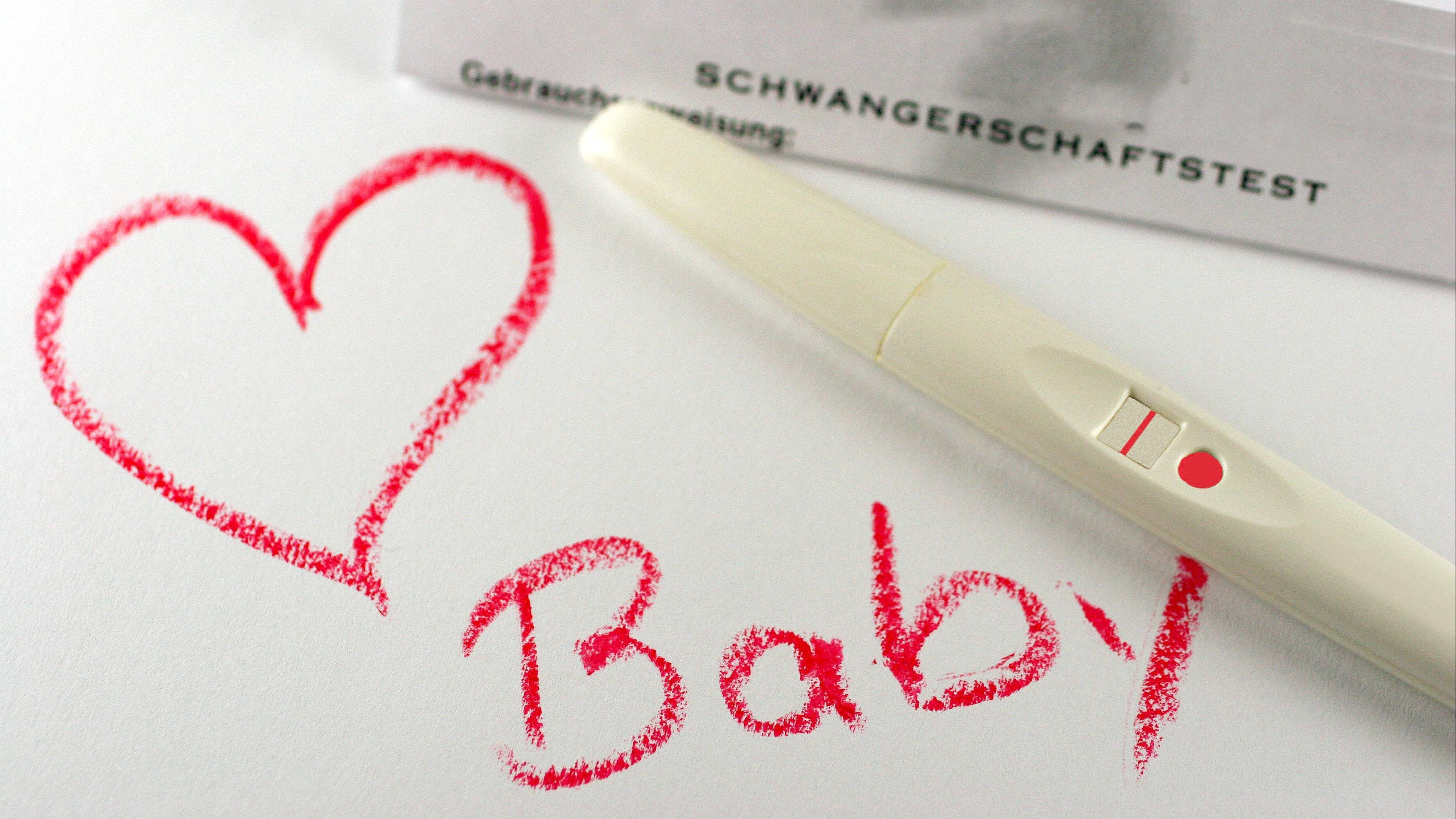 Erkennt man ist wie schwanger ohne ob test man Die ersten