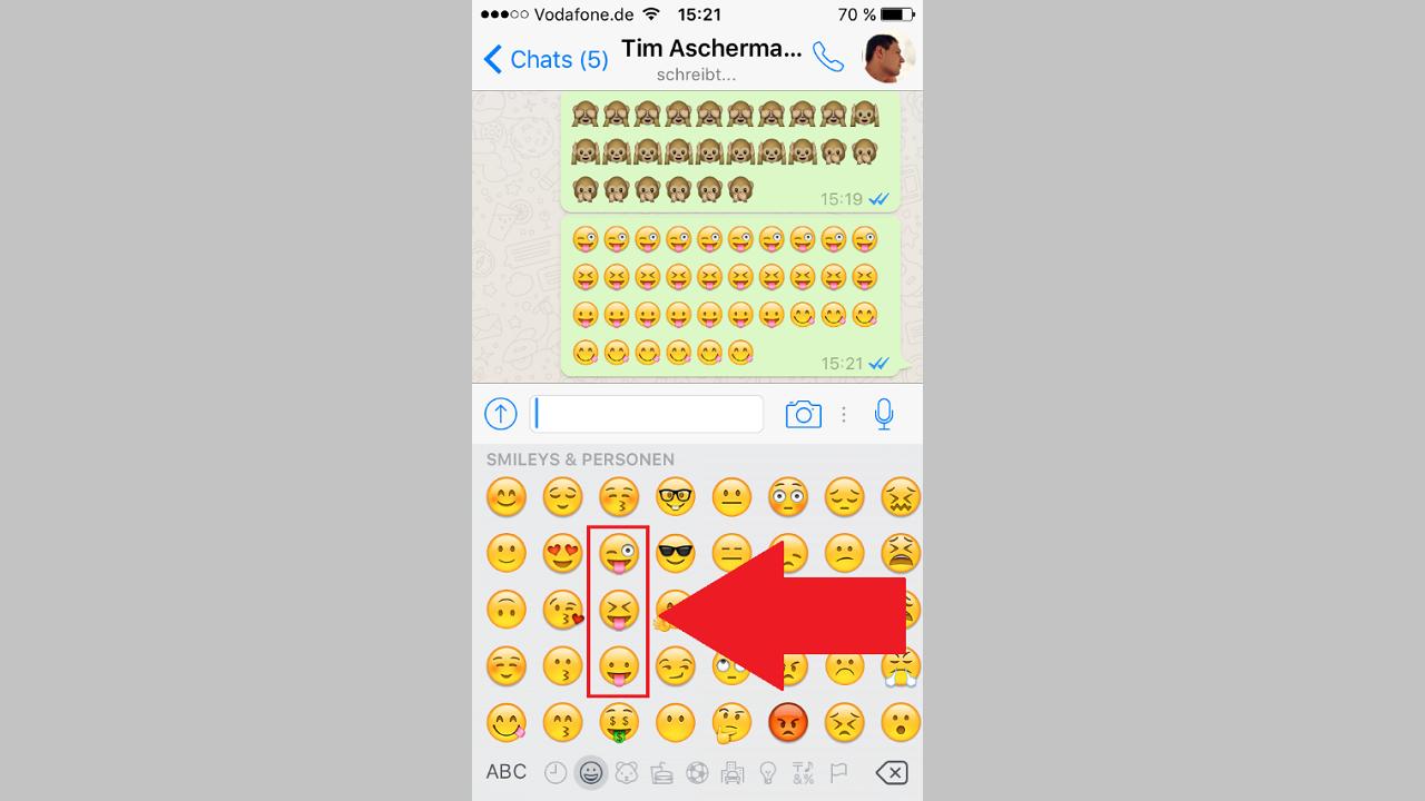 Whatsapp smileys bedeutung von WhatsApp