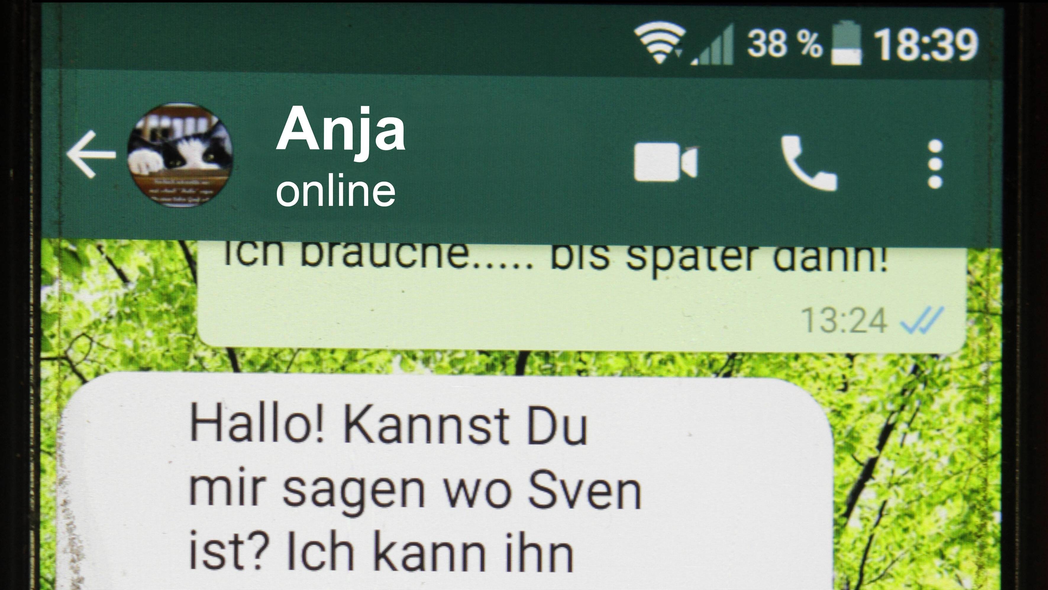 Einspeichern whatsapp namen Griechische nummer