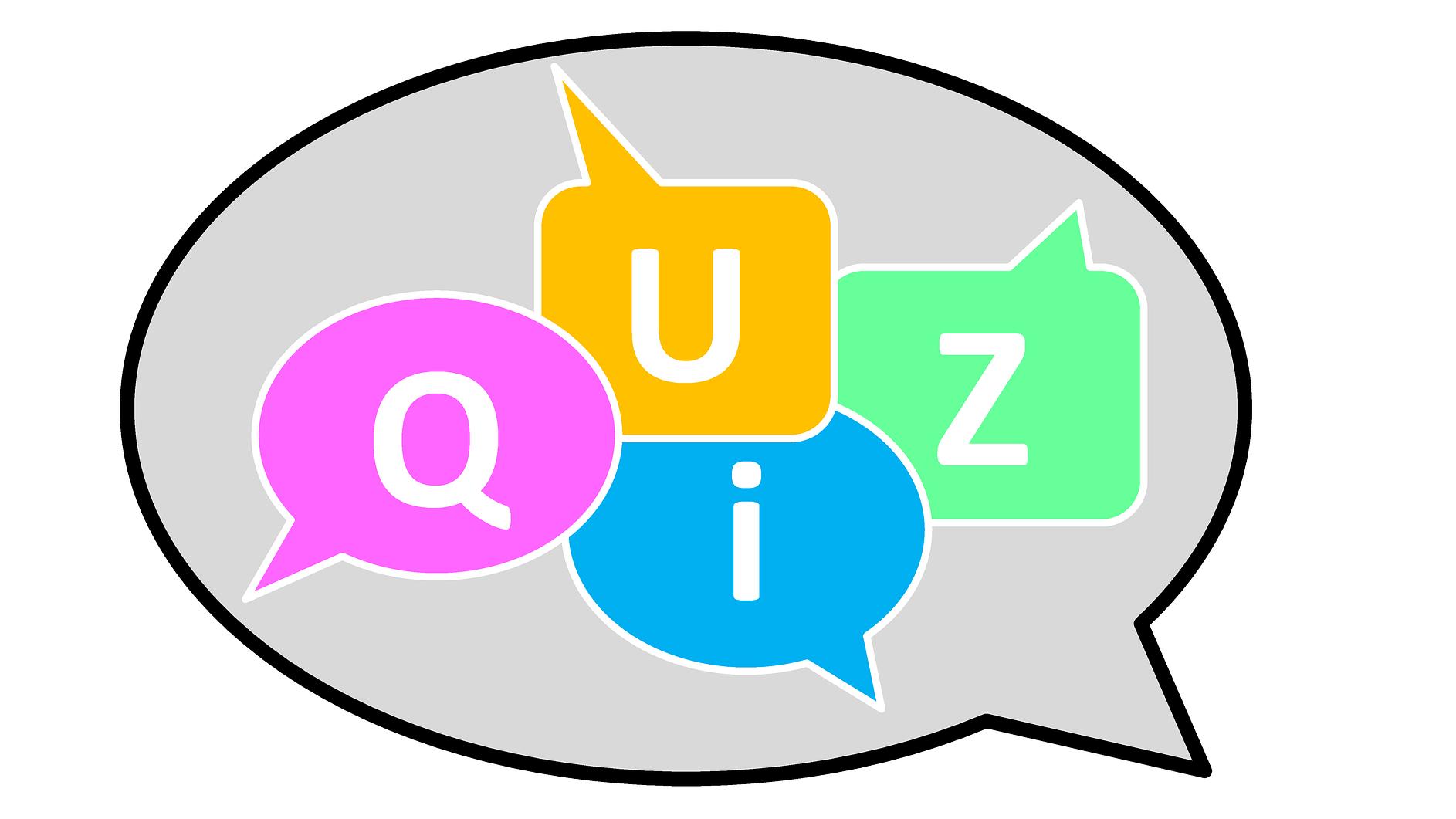 Mit fragen antworten quiz Quizfragen mit