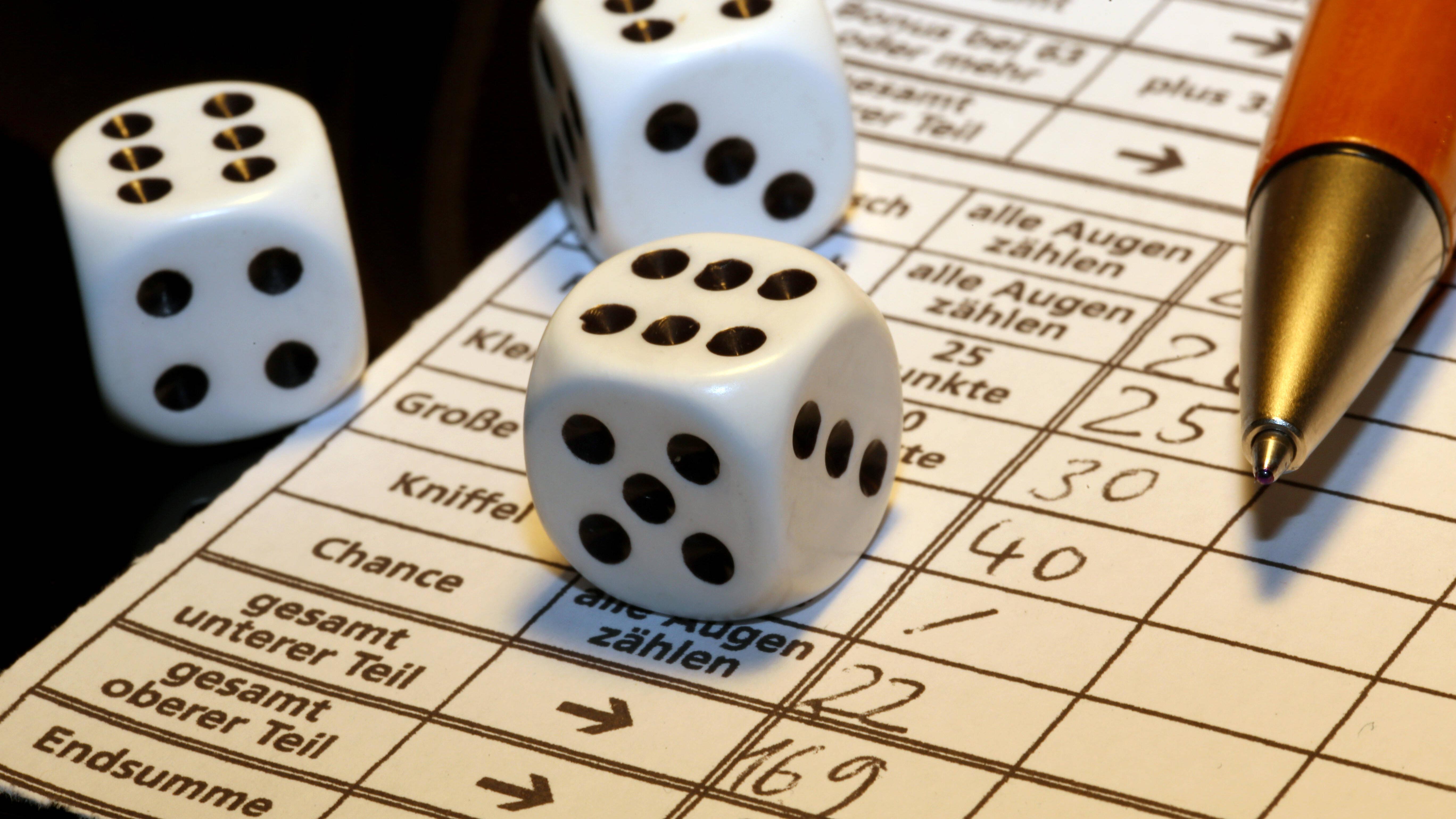 Regel kniffel Poker Regel