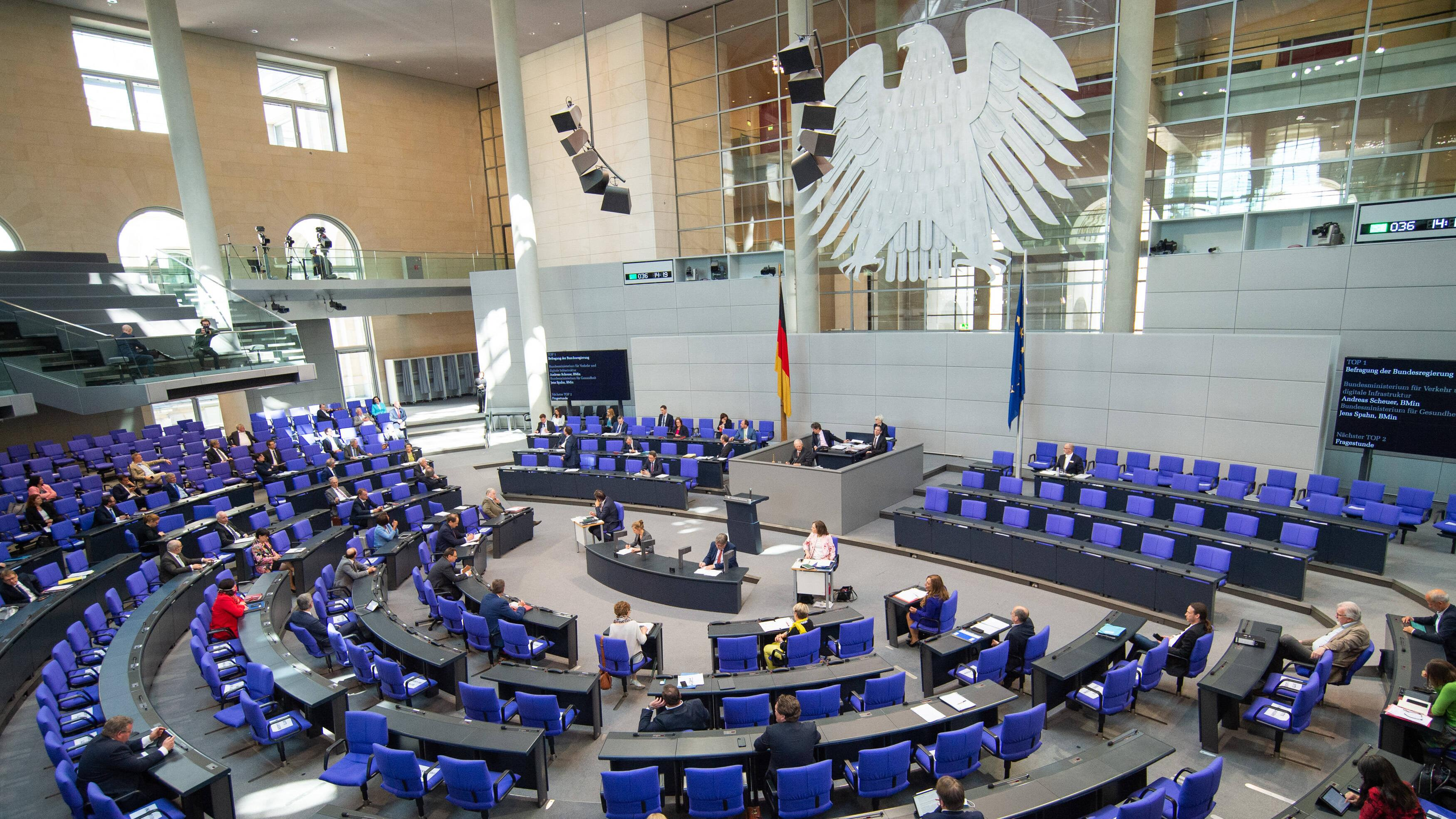Gehalt von Bundestagsabgeordneten Das verdienen die Politiker ...