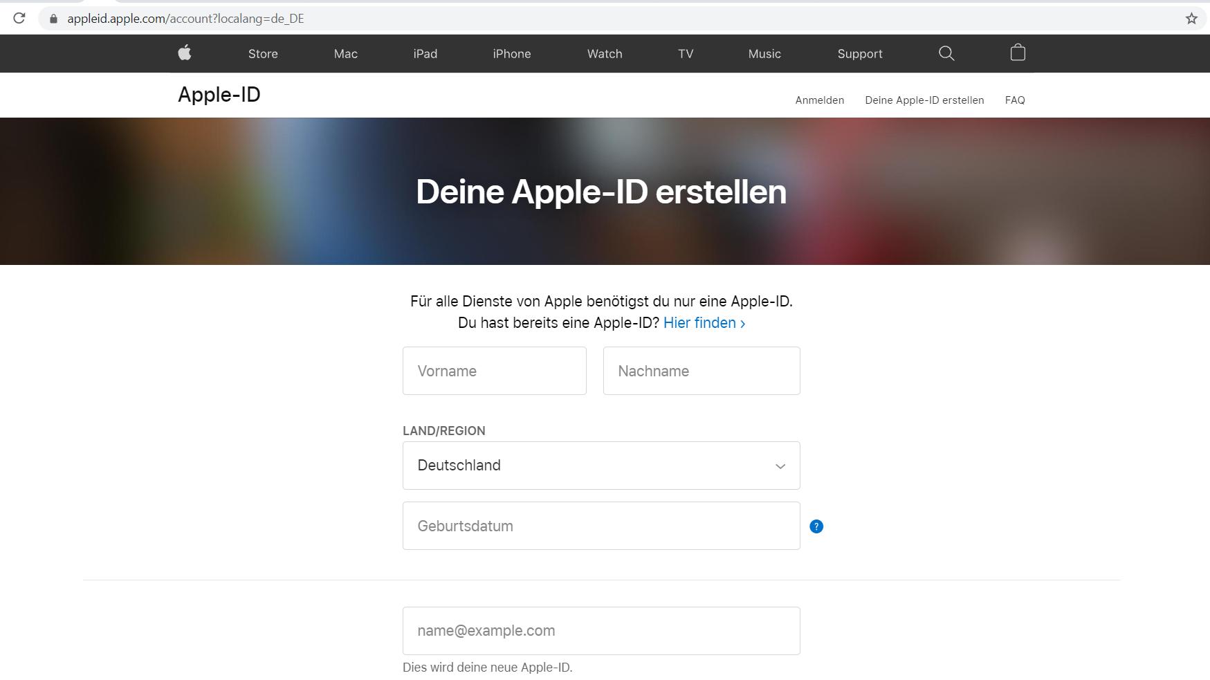 Apple ID erstellen   diese Möglichkeiten gibt es   CHIP